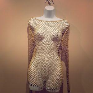 Handmade Crochet Sequin Top